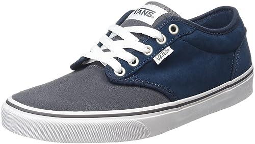 Atwood, Zapatillas para Hombre, Azul (MTE Flannel/Navy/Marshmallow), 39 EU Vans