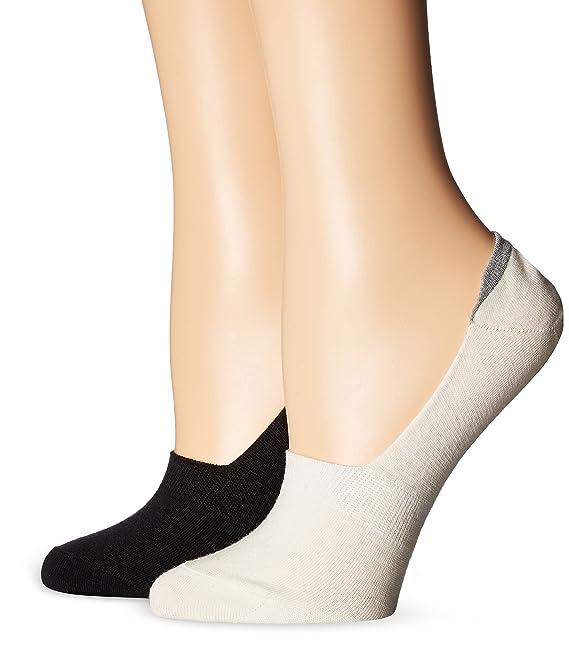 UGG Paquete de calcetines de lana merino para mujeres no vistos 2, crema / negro, O / S: Amazon.es: Ropa y accesorios
