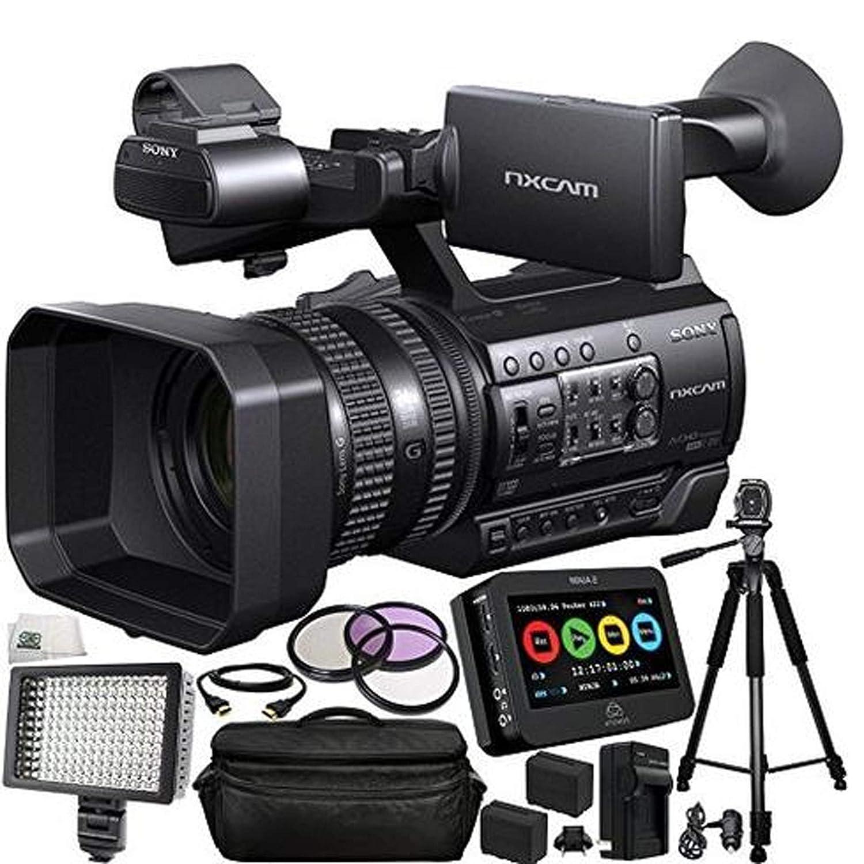 Amazon.com : Sony HXR-NX100 Full HD NXCAM Camcorder w/Atomos ...