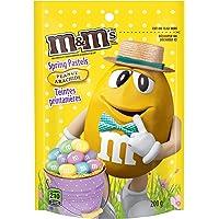 M&M's Chocolate Peanut Spring Pastel Chocolate Candy Pieces, 200 Grams