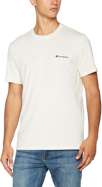 Champion Mens Classic Small Logo T-Shirt
