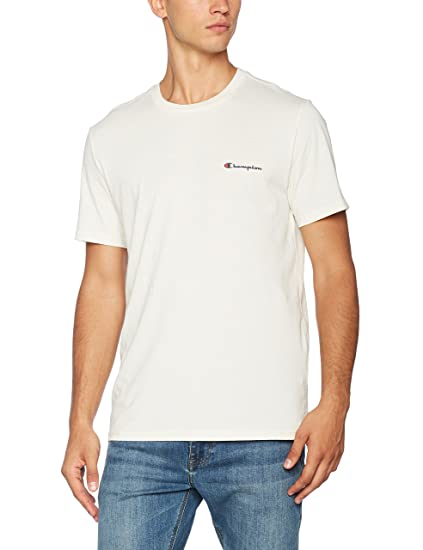 ce23f7ae1137 Image Unavailable. Image not available for. Colour: Champion Men's's  Crewneck Institutionals T-Shirt ...