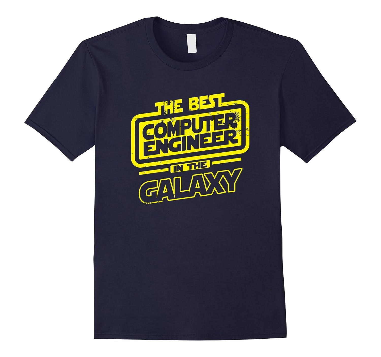 Computer Engineer Galaxy T Shirt Medium-Awarplus