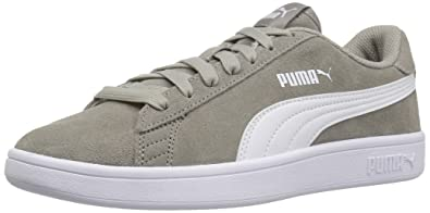 PUMA Men s Smash v2 Sneaker Elephant Skin White 4d724281a