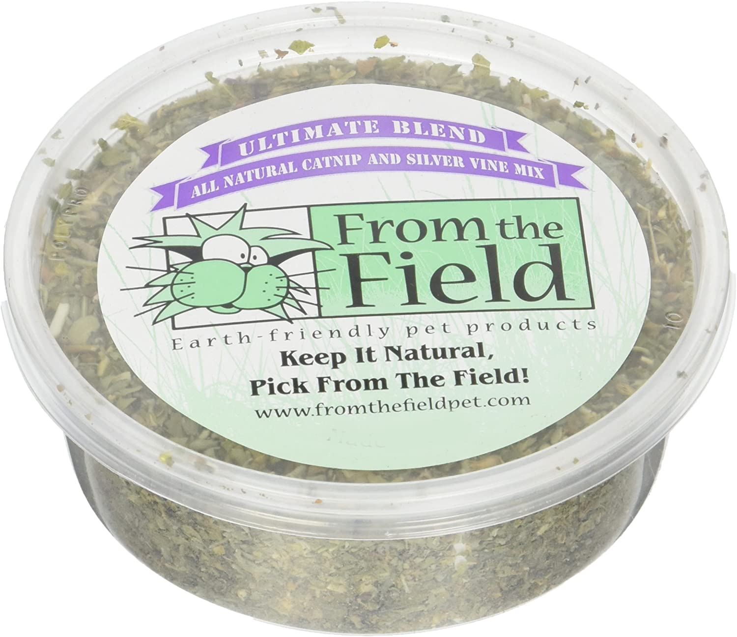 From The Field Ultimate Blend Silver Vine//Catnip Mix Tub