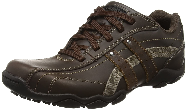 Diámetro Informal De Zapatos Skechers Hombres - Brown 8I7vW