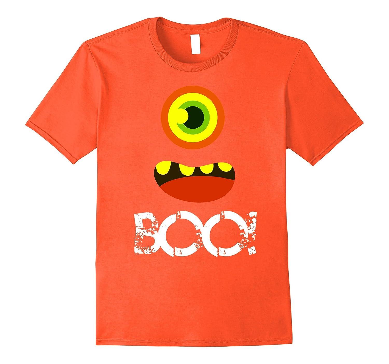 Boo Halloween Kids Toddler TShirt Monster tshirt girls boys-TJ
