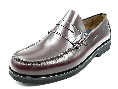 Zapatos Hombre Tipo Castellano de la Marca FLUCHOS, en Florentick Color Burdeos - M F0047