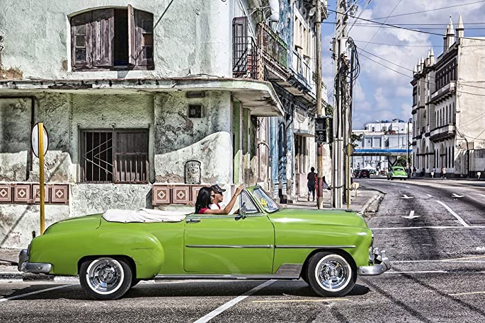 Amazon.com: Cuba Travel Print Urban Wall Art Street Art Havana Cuba ...