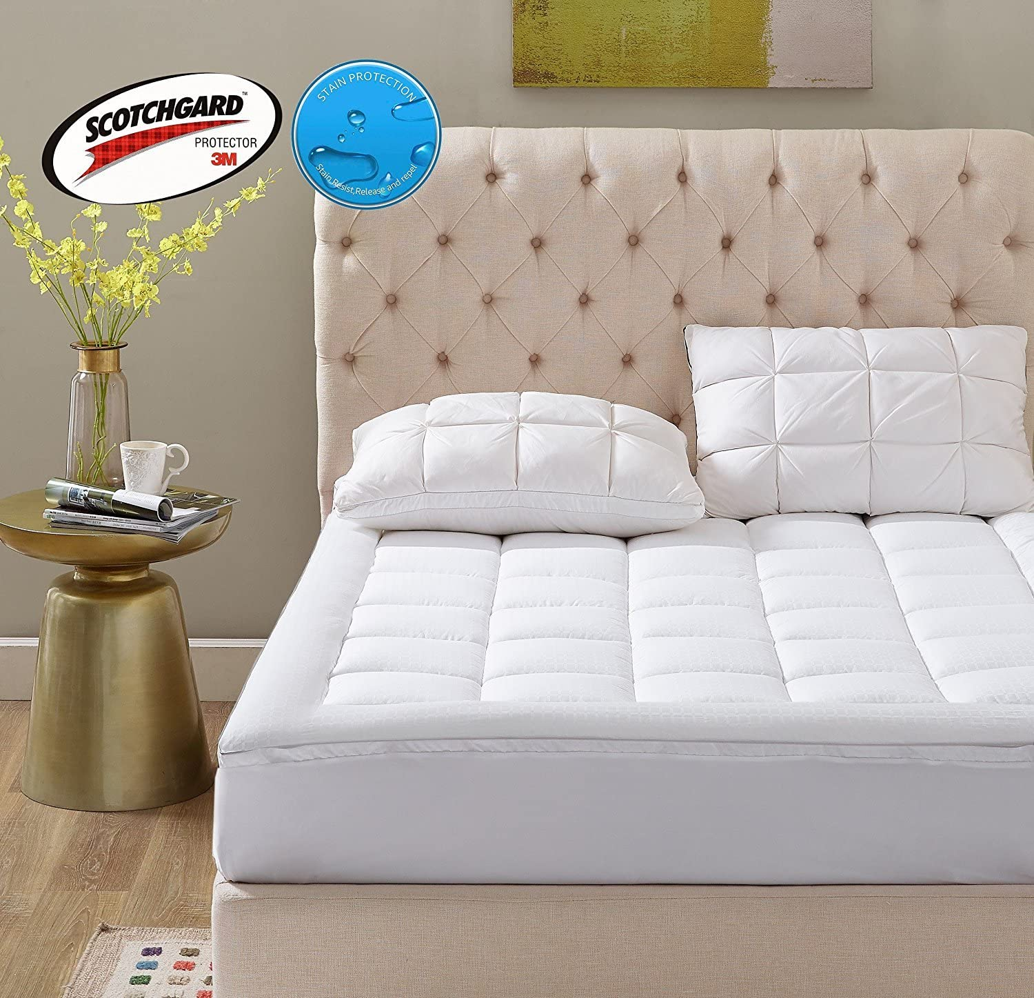Amazon Coupon Code for Overfilled Pillow Top Mattress Pad
