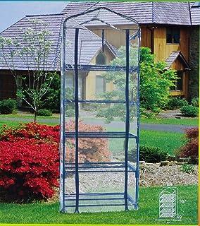 PAPILLON 8093015 Invernadero Portatil Pvc 5 Niveles 69 x 49 x 187 cm