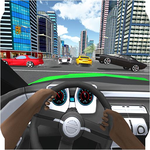 Furious Driving Simulator 3D - Fast Traffic Car Racing 2019 ()