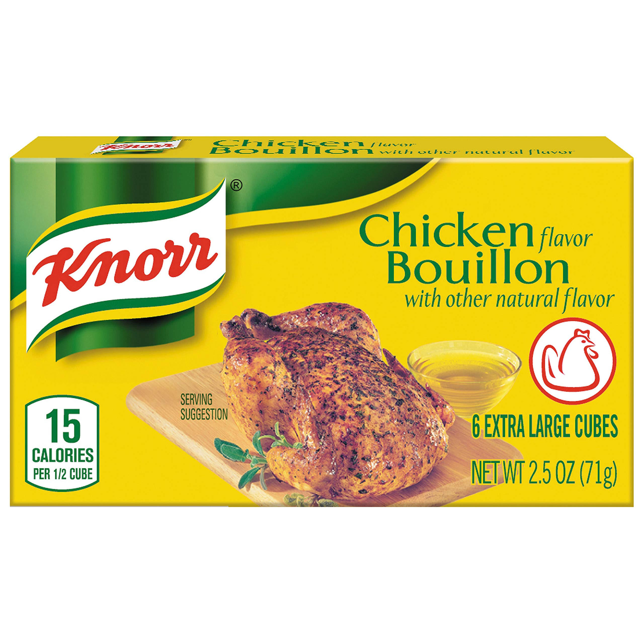 Knorr Cube Bouillon, Chicken, 2.5 Ounce, 6 Cubes by Knorr