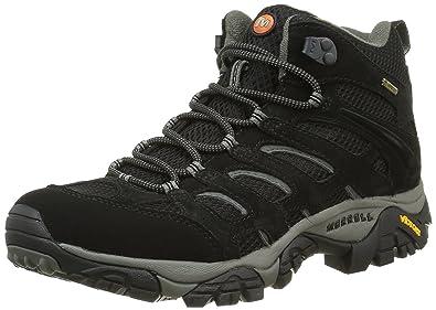 Merrell MOAB MID GTX, Damen Trekking- & Wanderstiefel, Schwarz (BLACK), 36 EU (3.5 Damen UK)