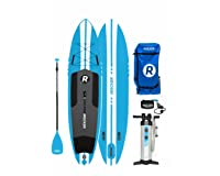iROCKER ALL-AROUND Inflatable Stand Up Paddle Board 11' Long 32
