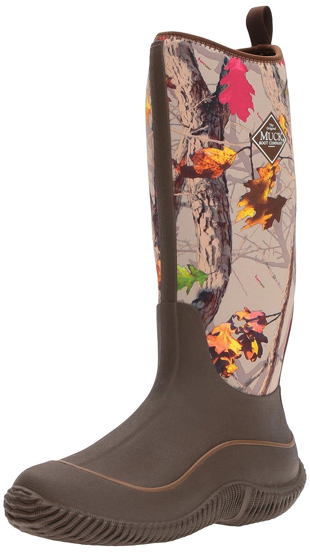 MuckBoots Women's Hale Plaid Boot B01GK95LX0 7 B(M) US|Brown/Hot Leaf Camo