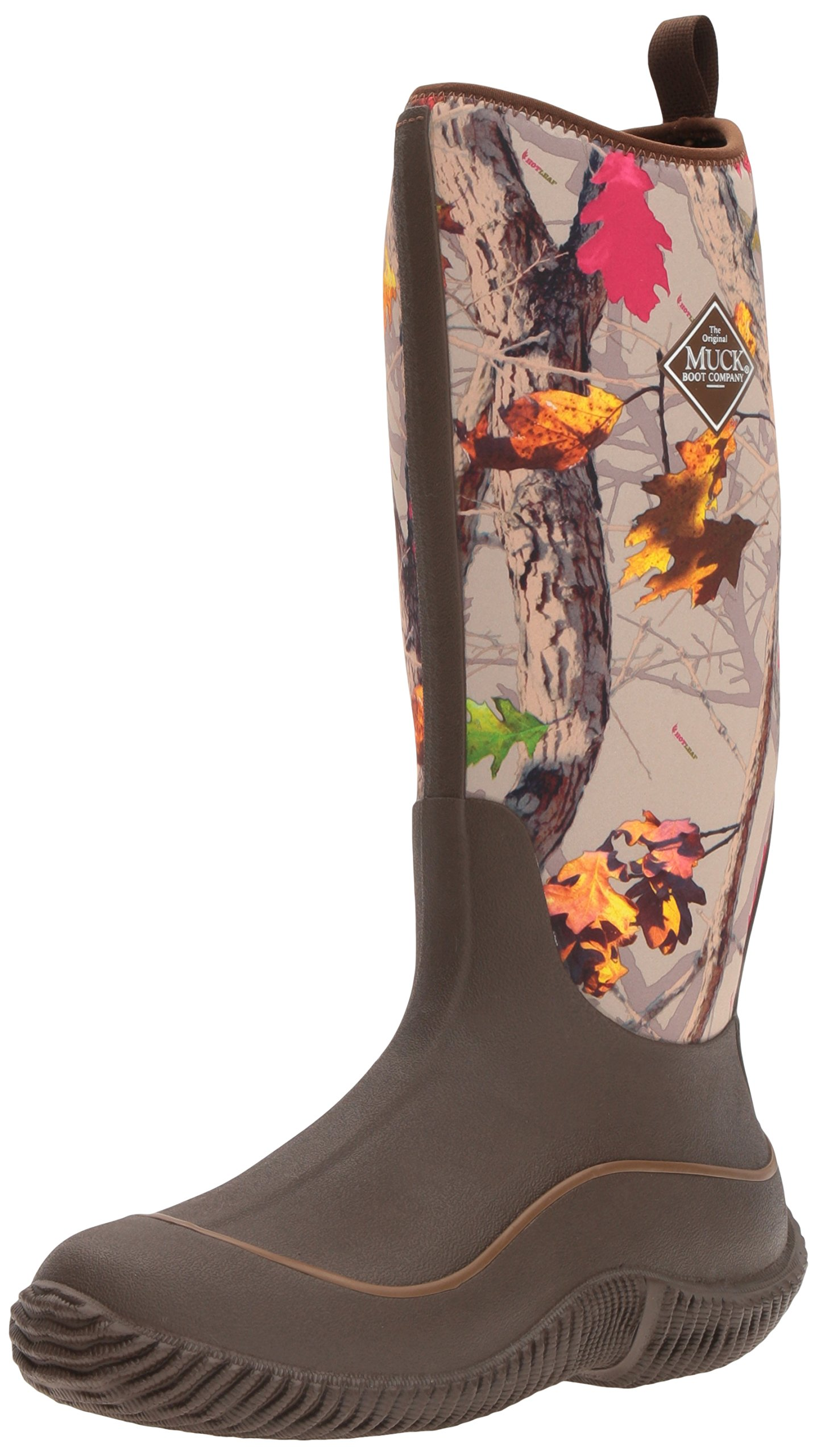 Muck Boot Women's Hale Snow Boot, Brown/Hot Leaf Camo, 8 M US