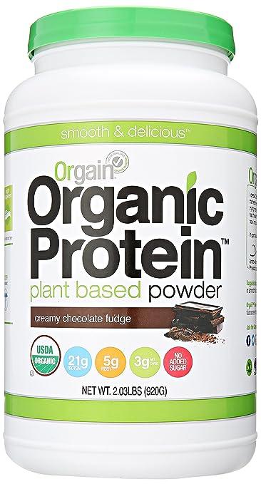 Orgain Organic Plant Based Protein Powder