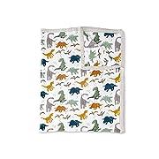 Little Unicorn Extra Soft Cotton Muslin Large Quilt Blanket - Dino Friends