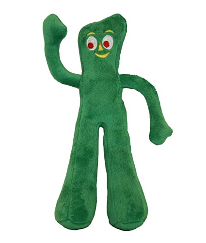 dog loves gumby