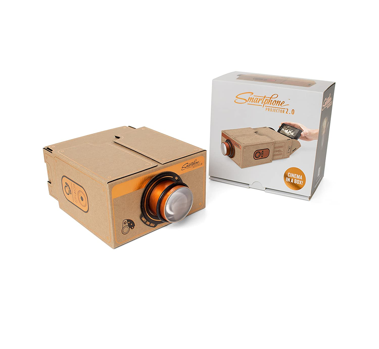 Luckies of London LUKPRO2C Smart Phone Projector 2.0 copper edition
