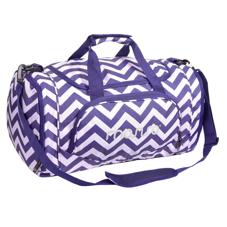贅沢品 Mosisoキャンバスファブリック折りたたみ式旅行荷物ダッフルバッグショルダーバッグ軽量スポーツ、ジム B07DLZBXJP、ハワイアン B07DLZBXJP Chevron Purple Purple Chevron Chevron Purple, 吾平町:284faf94 --- arianechie.dominiotemporario.com