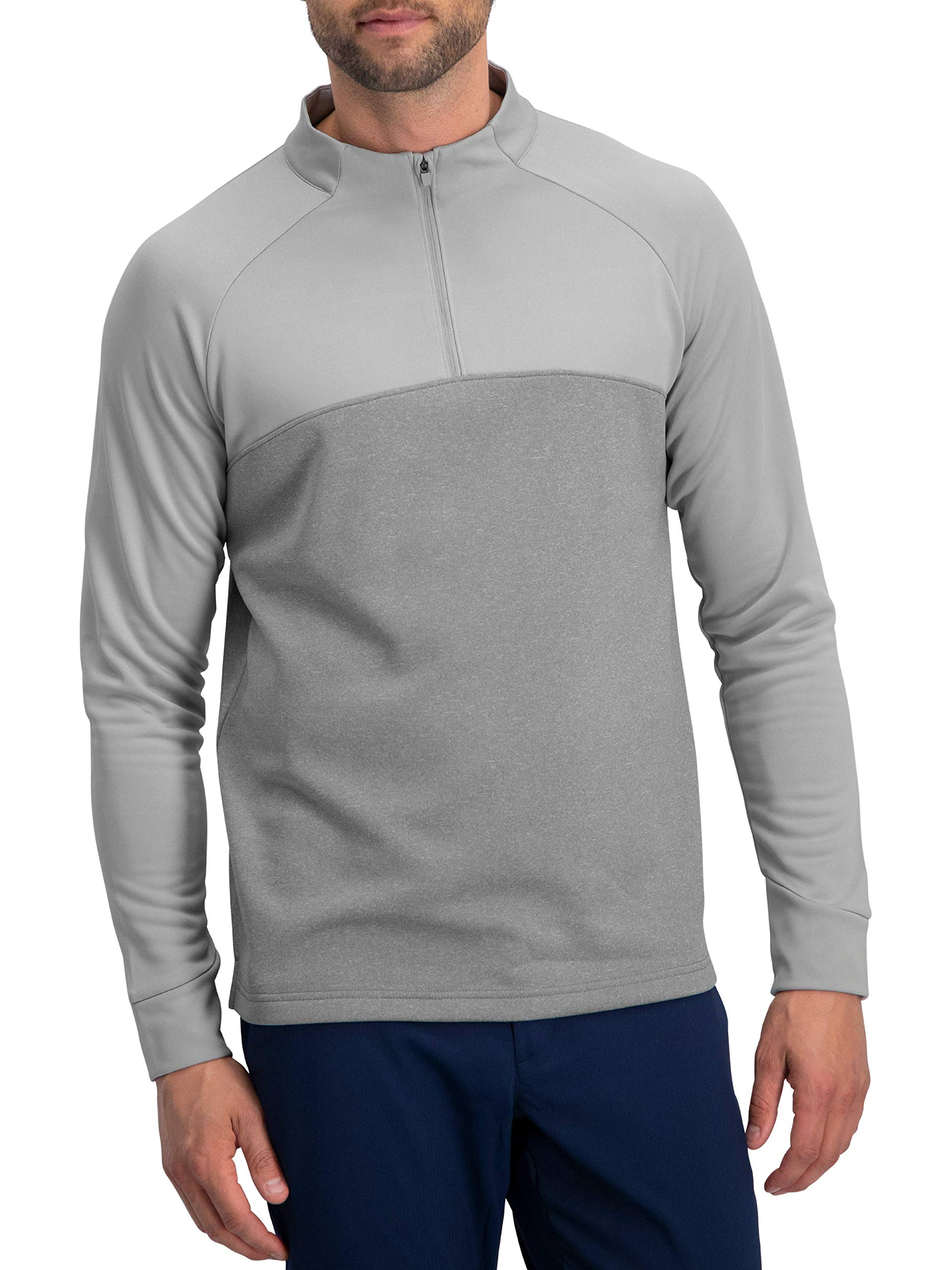 Golf Half Zip Pullover Men - Lightweight Fleece Sweater Jacket, Dry Fit Golf Shirt