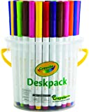 Crayola 40 Super Tips Deskpack (10 Colors),Markers