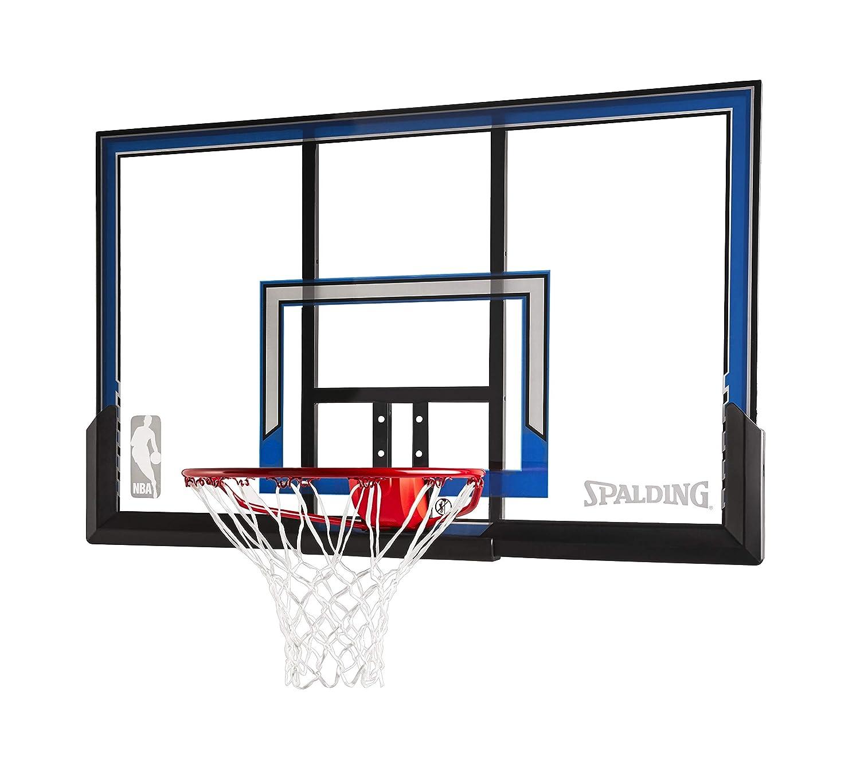 Spalding壁マウントバスケットボールフープと50-inchポリカーボネートBackboard B00HN108BU