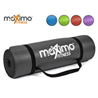 Maximo Exercise Mat - Premium Quality NBR Fitness Mat - Multi Purpose -  183cm Length x