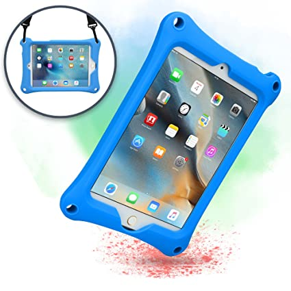 Tablets & E-books Case Shoulder Strap Official Website For Ipad Mini4 Shockproof Kids Protector Case For Ipad Mini 4 Heavy Duty Silicone Hard Cover Shell