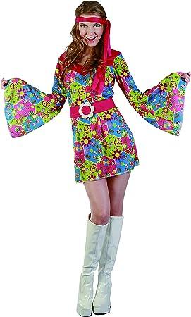 Reír Y Confeti - Fiahip012 - Para adultos traje - Disfraz Hippie ...