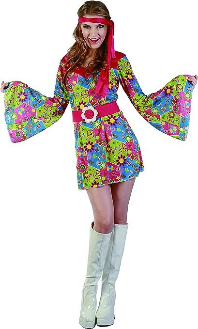 Reír Y Confeti - Fichip012 - Para adultos traje - Disfraz Hippie ...