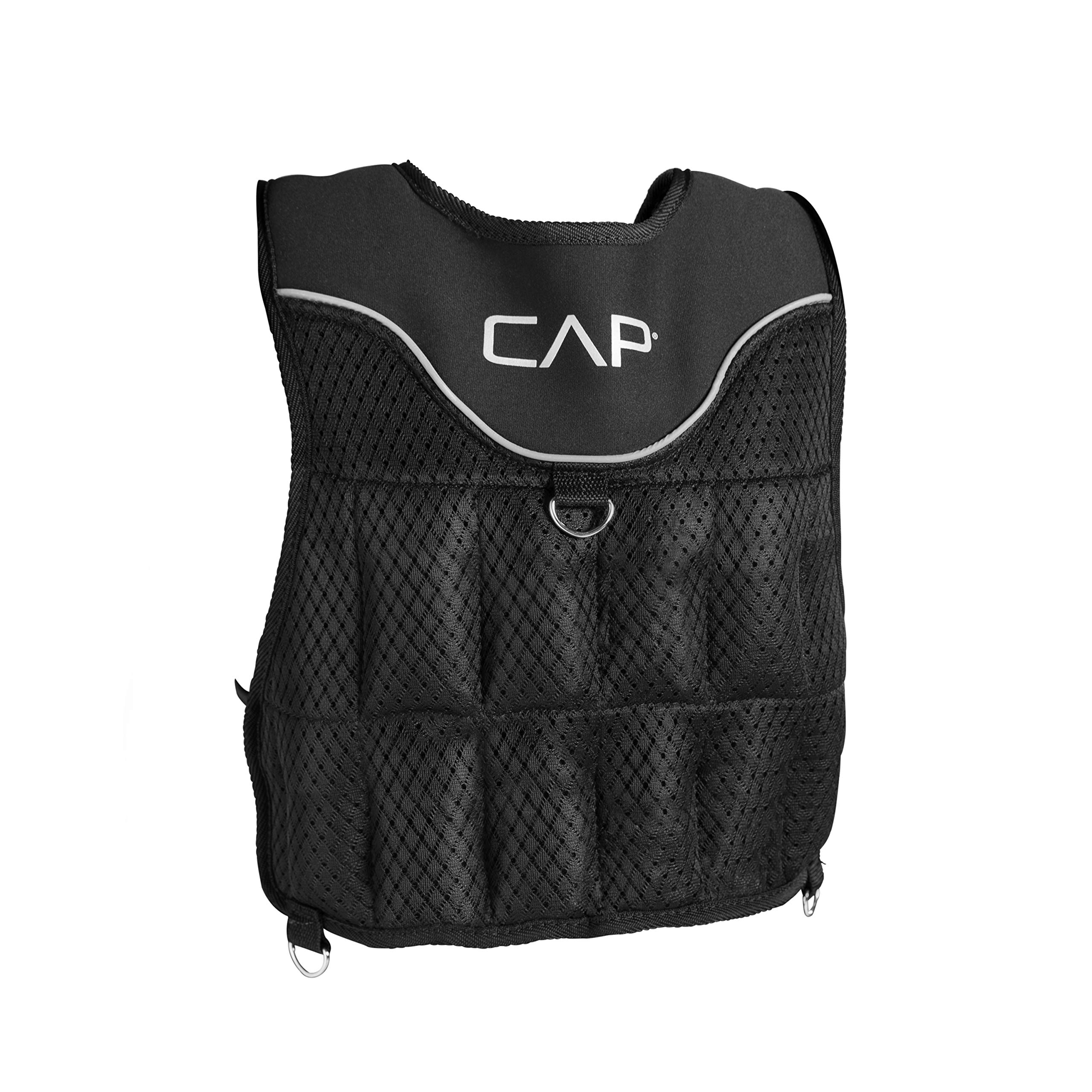 CAP Barbell (HHWV-CB020C) Adjustable Weighted Vest, 20-Pound