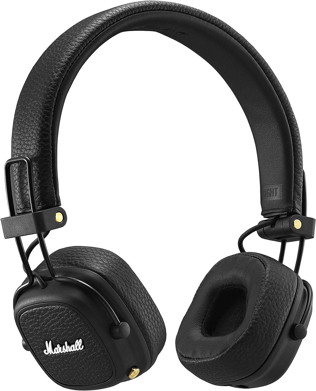 Marshall Major III Bluetooth Wireless On-Ear Headphones, Black – New