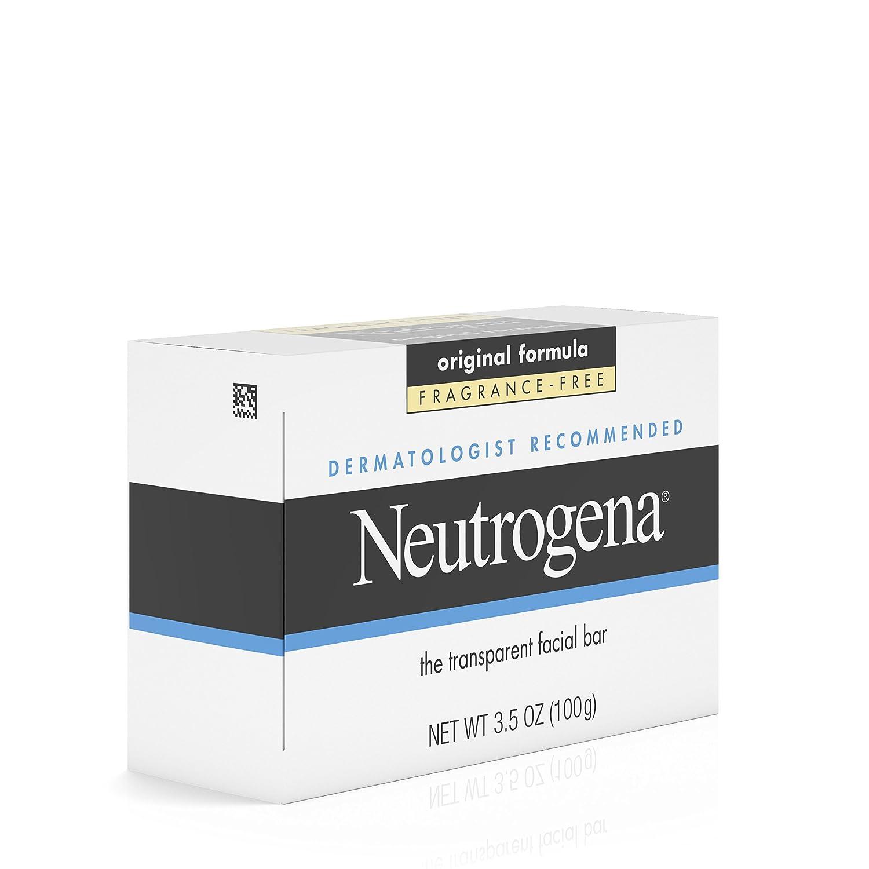 24 PACKS : Neutrogena Transparent Facial Bar, Original Formula Fragrance Free, 3.5 Ounce PROSTARTERZ Ehsantial Products Lip Scrub, Marshmallow