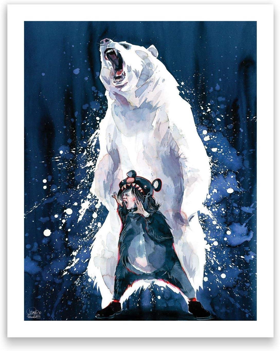 The Courage by Lora Zombie Studio Art Print 8.5