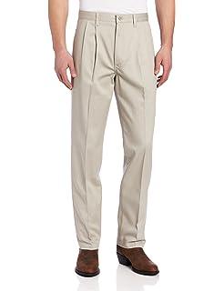 9b78485d Amazon.com: Wrangler Men's Tall Riata Advanced Comfort Flat Front ...