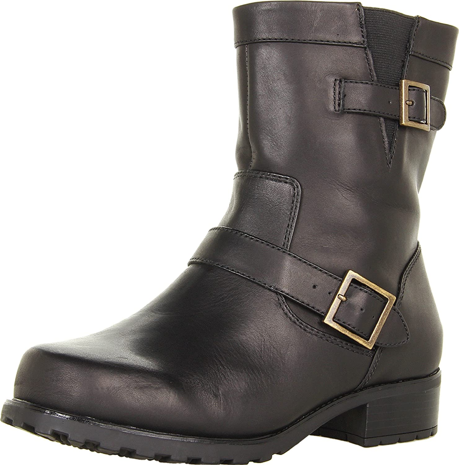 SoftWalk Women's Bellville Boot B0071BFG96 8 W US|Black