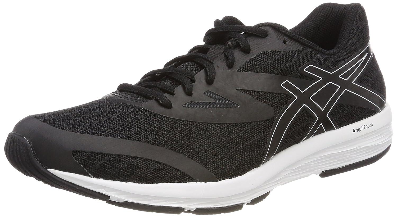 Asics Amplica, Zapatillas de Running para Mujer 43.5 EU|Negro (Black/Black/White 9090)