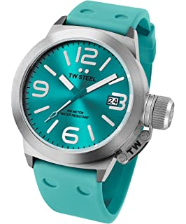 TW Steel Canteen Silicone Mens Watch