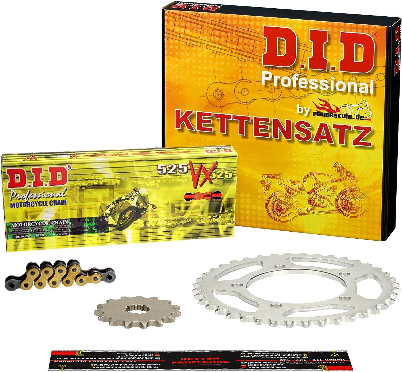 Kettensatz Honda CB 500 DID X-Ring extra verst/ärkt gold PC32 PC26 1994-2003