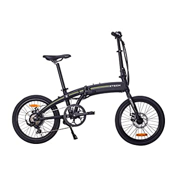 Lunex Bicicleta eléctrica Plegable E-Bike Unisex Adulto ...