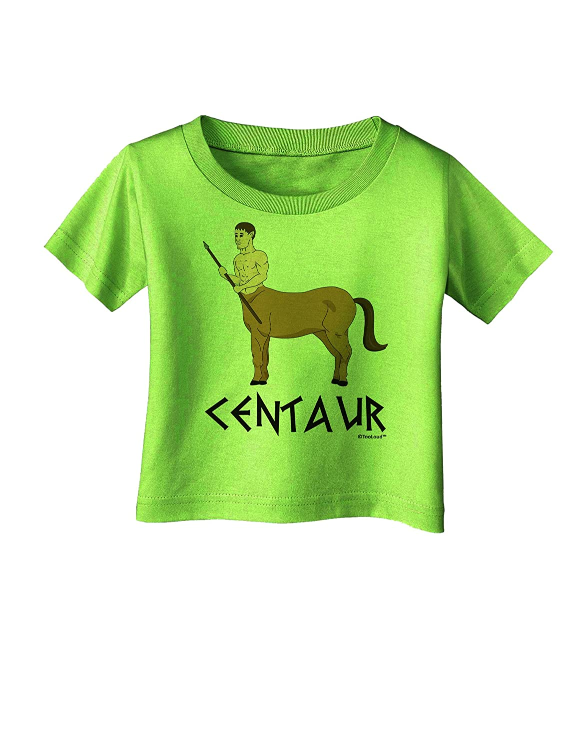 Text Infant T-Shirt TooLoud Greek Mythology Centaur Design Color