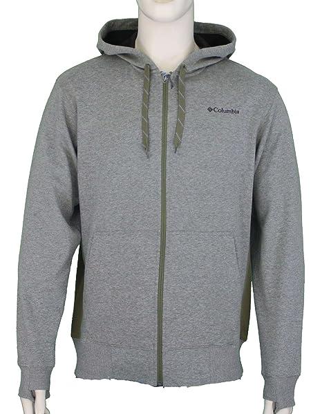 Columbia Mens Schuss Omni Shield Full Zip Hoodie Sweatshirt Olive AM6670   Amazon.ca  Sports   Outdoors b813d7ed3