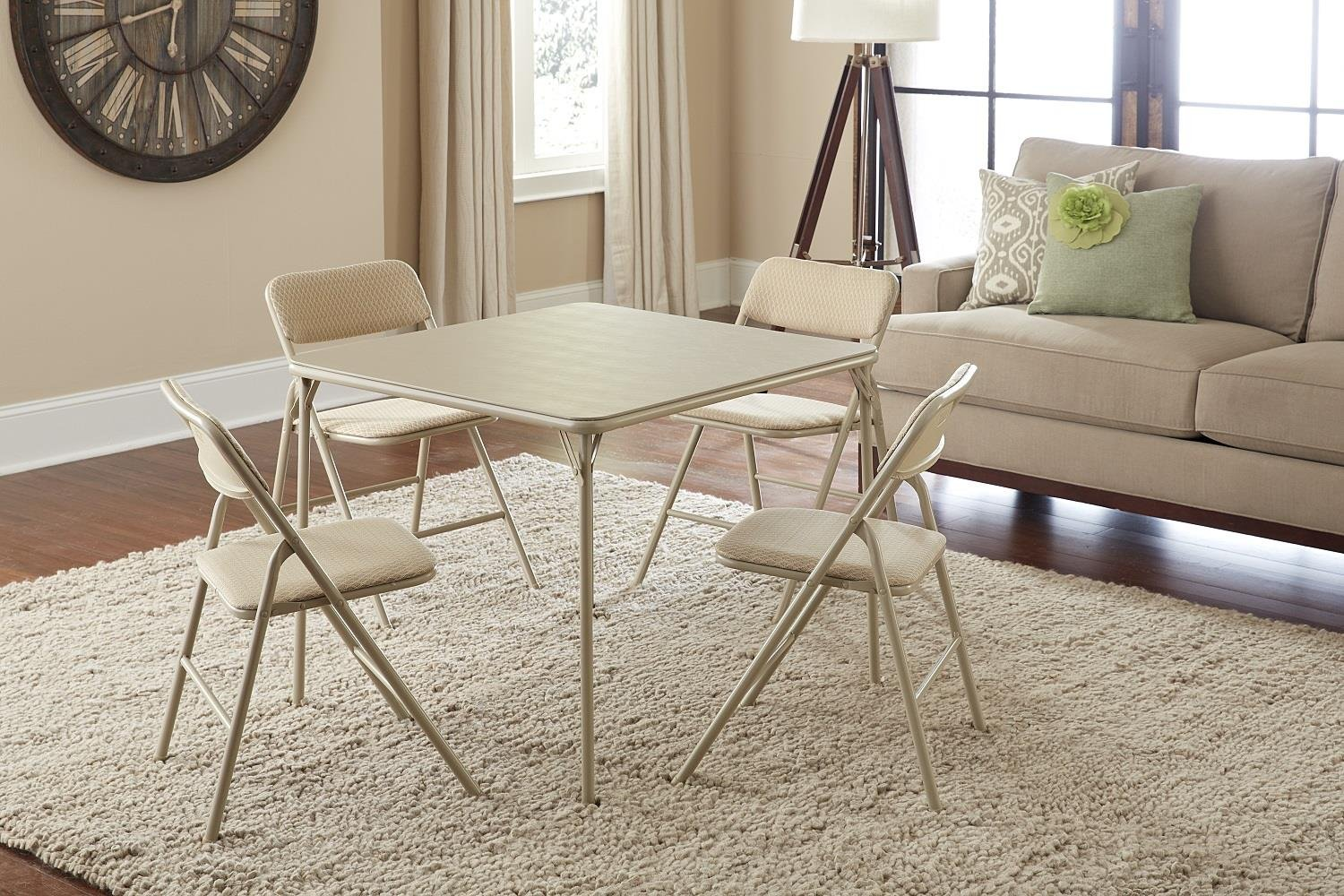 Cosco 14551whd Outdoor Living 5 Piece Folding Table And
