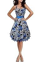 Black Butterfly 'Rhya' Vintage Liberty 50's Dress