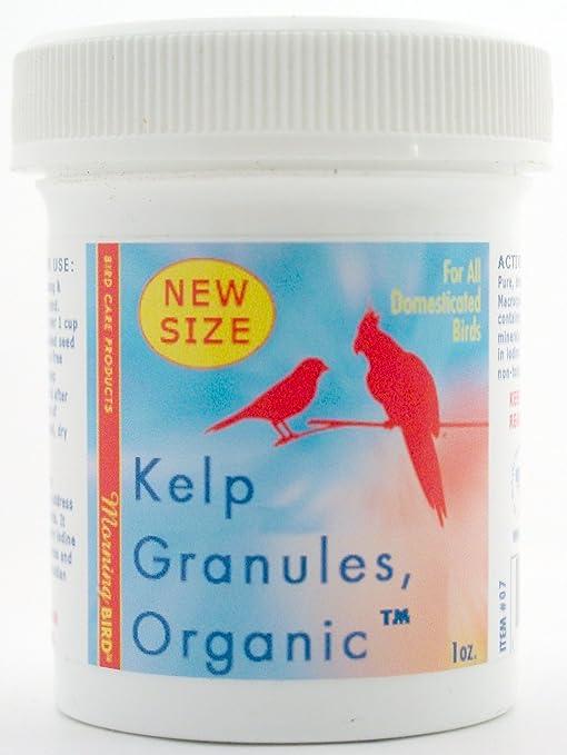 Morning Bird Kelp Granules, Nutritional Supplement for Birds