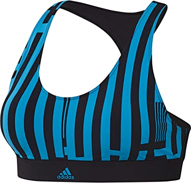 adidas Don't Rest Amphi Bikini Top, Women, Black/Shock Cyan ...