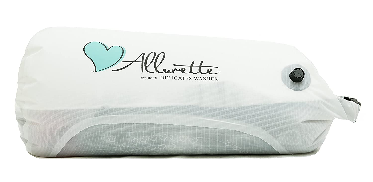 Allurette Wash Bag - Delicates Laundry System for Lingerie, Active Wear and Gentle Hand Wash Clothes